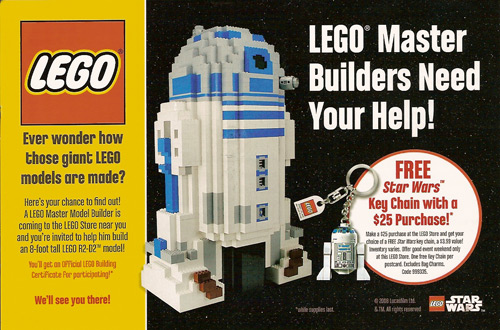 Master Builder Event Flyer